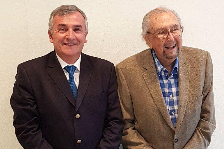 El Gobernador se reunió con el destacado arquitecto César Pelli por el proyecto del Museo de Lola Mora