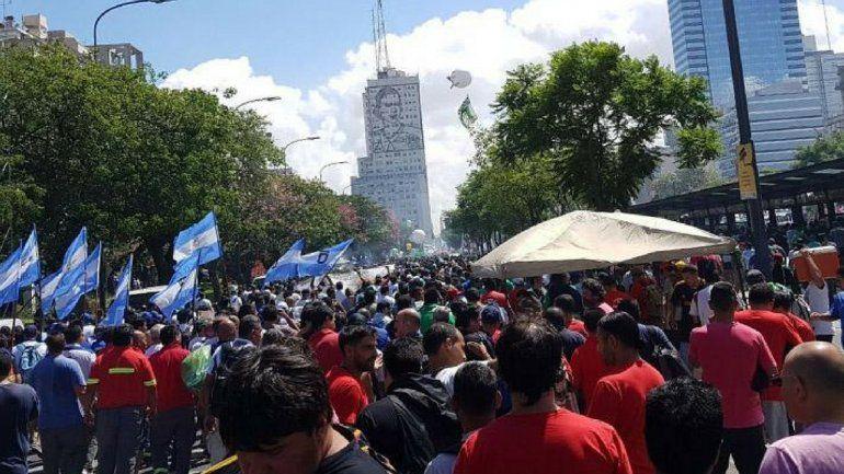 Moyano dio un discurso duro, no llamó a un paro y esperan el próximo paso del Gobierno