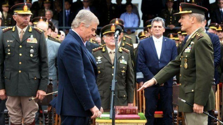 Pasqualini al frente del Ejército: Las fuerzas armadas fueron estigmatizadas
