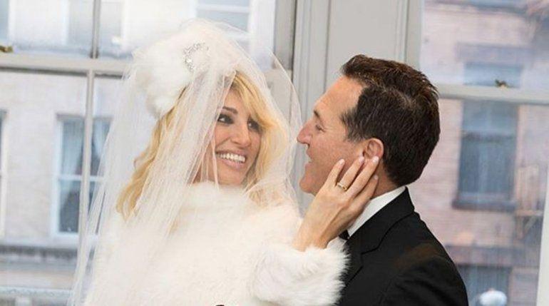 Vicky Xipolitakis mostró la intimidad de su noche de bodas