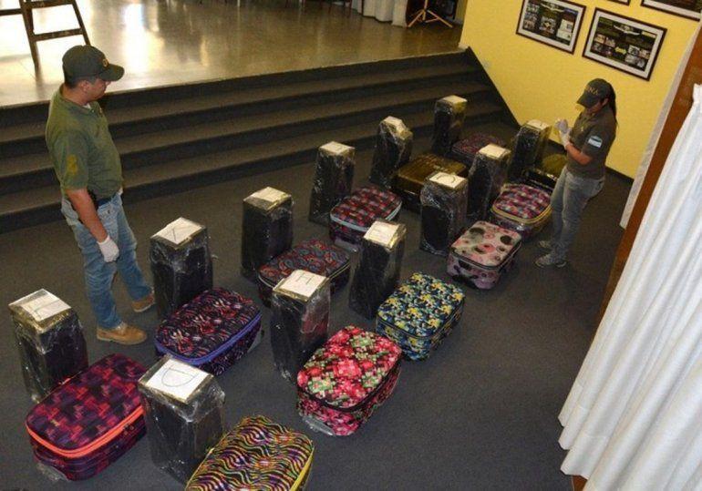 Hallaron 400 kilos de cocaína en la embajada de Rusia en la Argentina