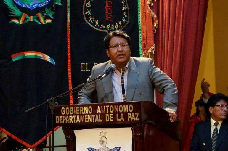 El Cónsul de Bolivia