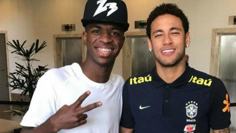 Vinicíus Jr supera los números de Neymar a los 17 años