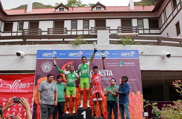 Gonzalo Najar volvió a brillar en la vuelta de Mendoza y quedó segundo