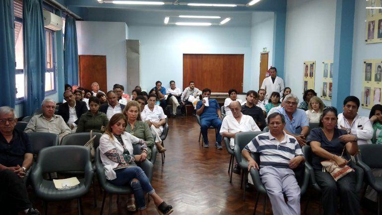 Asamblea de medicos