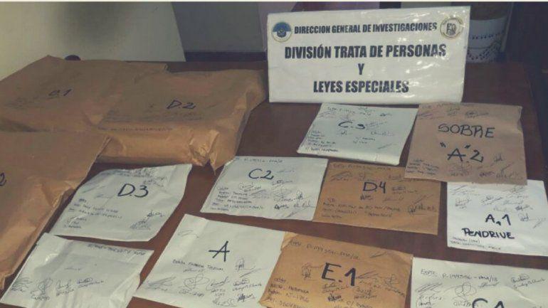 En San Pedrito secuestraron 30 celulares, 10 notebooks y 3 CPU con pornografía infantil