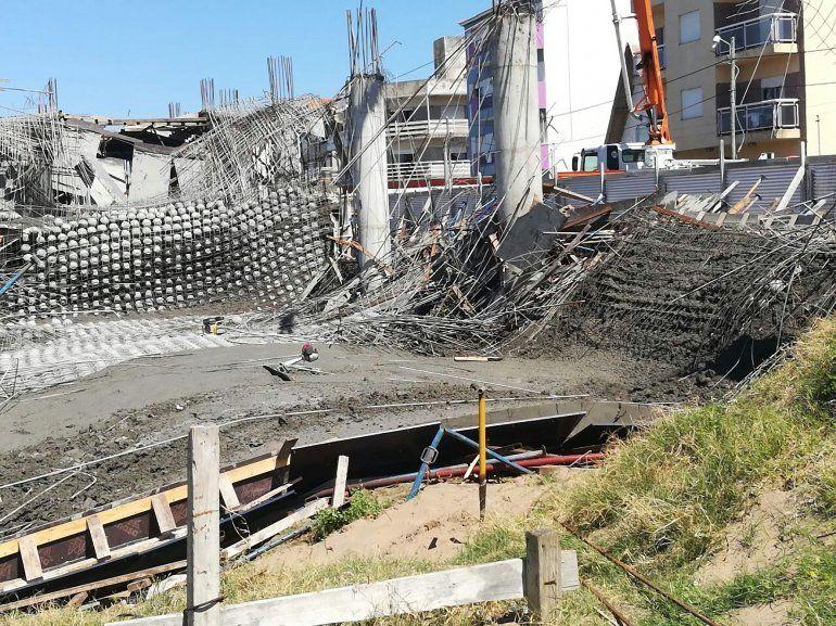 Seis obreros muertos por el derrumbe de una obra en Santa Teresita
