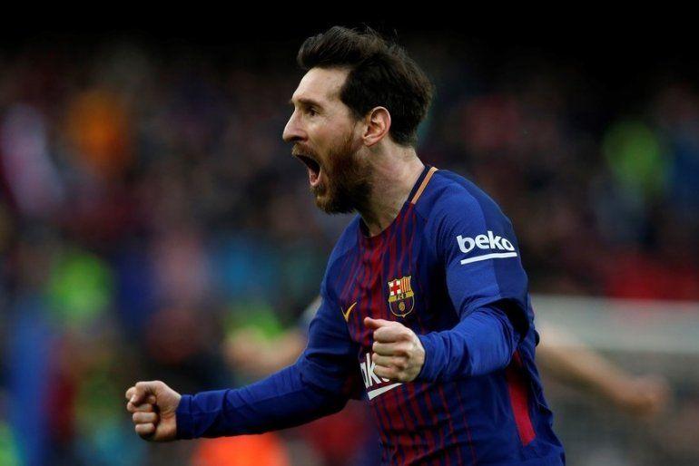 Barcelona le ganó al Atlético de Madrid, Messi metió el gol 600 y la Liga está más cerca
