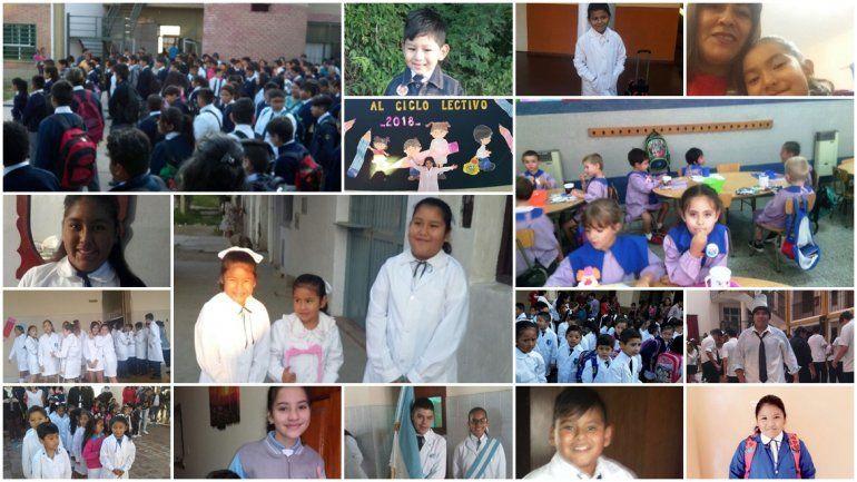 La vuelta al cole en fotos: la emoción de los primeros días de clases