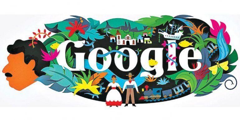 Las historias detrás del doodle de Google que rinde homenaje a Gabriel García Márquez