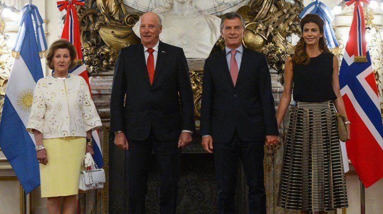 Los detalles del despliegue del Gobierno para recibir a los reyes de Noruega