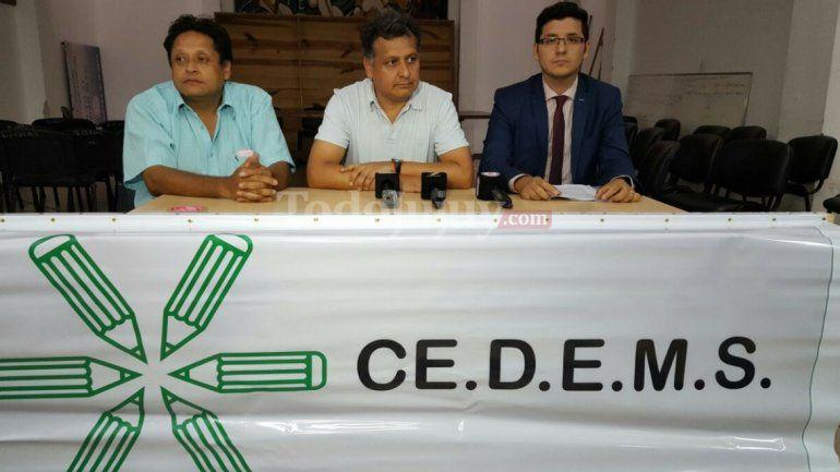 Paritaria docente: CeDEMS se mantiene firme, rechazó la conciliación obligatoria y ratificó el paro