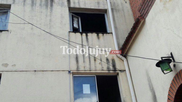 Hotel quemado