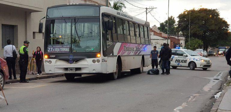 Accidente en Belgrano y Argañaraz: atropellaron a una mujer y murió en el acto
