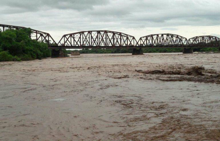 Nueva crecida del río Pilcomayo: pronostican que llegaría a los 6,84 metros