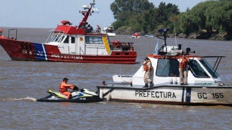 Encontraron el cuerpo de David Peña, el chico que cayó al río durante una fiesta en un catamarán