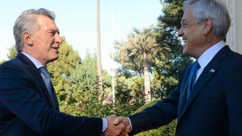 En la asunción de Piñera, Macri pidió potenciar las capacidades de la región