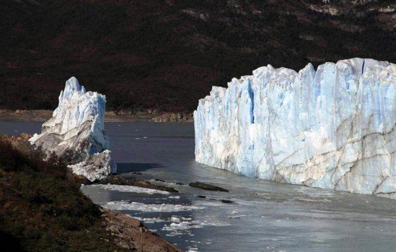 En medio de una tormenta, el Perito Moreno se rompió de noche y sin público