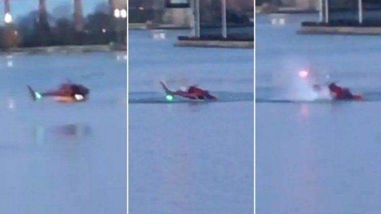 Cayó un helicóptero en Nueva York y hay 5 muertos, entre ellos una argentina