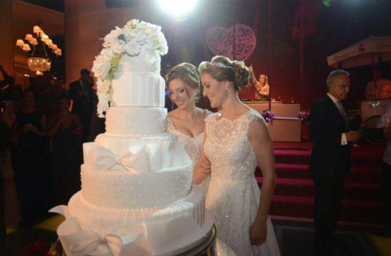Un casamiento entre mujeres es furor en Brasil