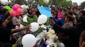 Una multitud despidió a Alexis Mamaní en el cementerio de Palpalá