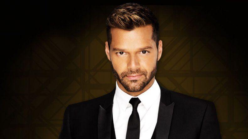 Ricky Martin anunció que llega a la Argentina en el 2020