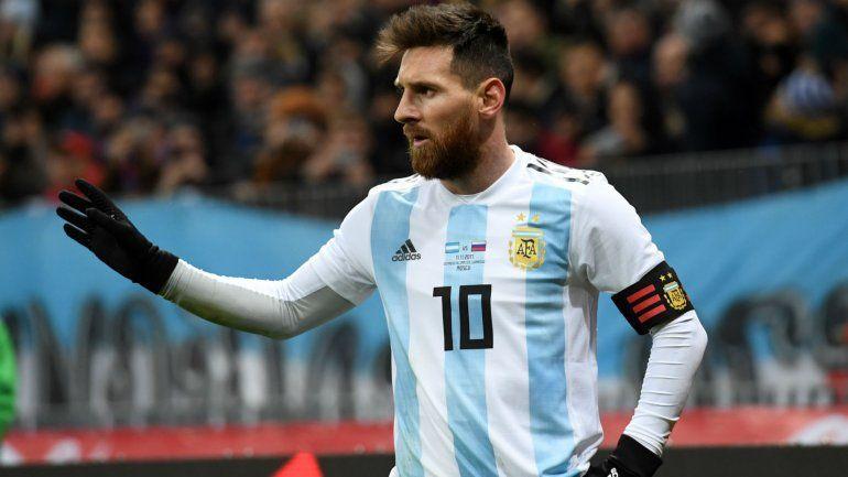 Confirmado: Messi sigue con molestias físicas y no juega ante España
