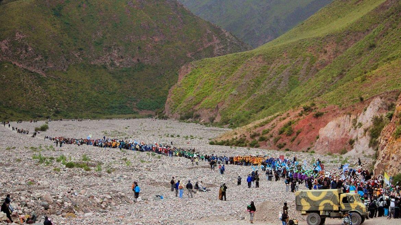 Comienza la peregrinación a Punta Corral: una cita con la Virgen del Cerro para agradecer y pedir bendiciones