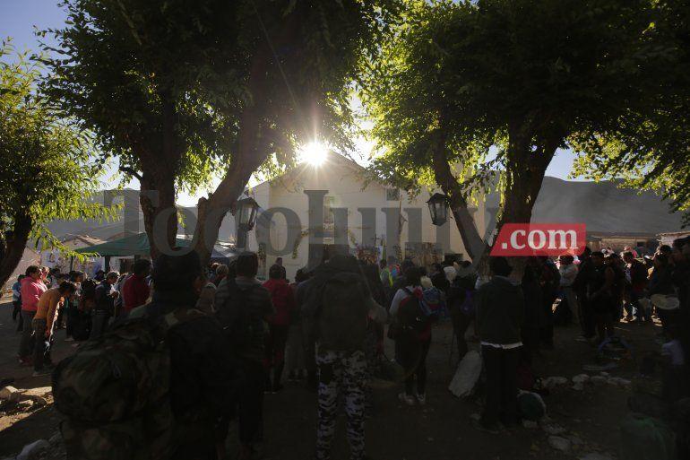 ¡Una multitud! Más de 45 mil peregrinos ascendieron hacia el Abra de Punta Corral