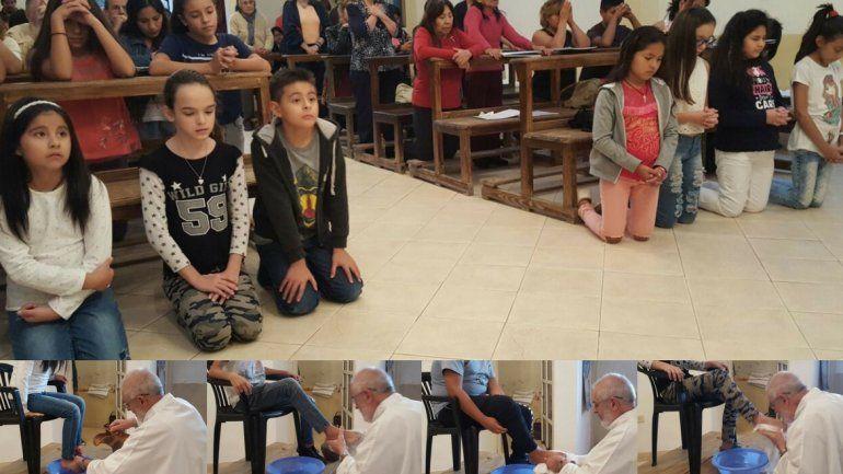 Jueves Santo: comenzó el triduo pascual y buscan que los niños participen en Semana Santa