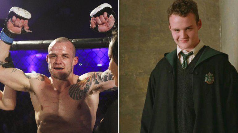 De actuar en Harry Potter a ser luchador invicto en la MMA