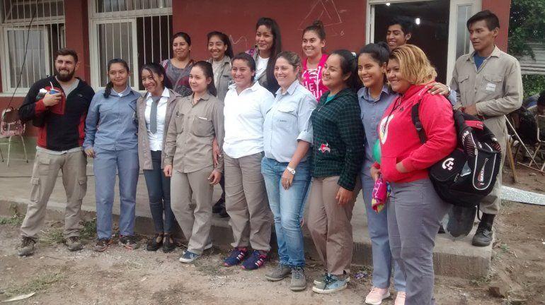 Un aporte para los estudiantes: Ledesma capacita en prácticas forestales a jóvenes en Vinalito
