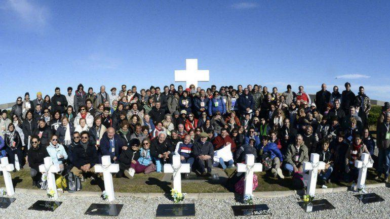 A 36 años de la Guerra: Macri recibió a familiares de caídos en Malvinas