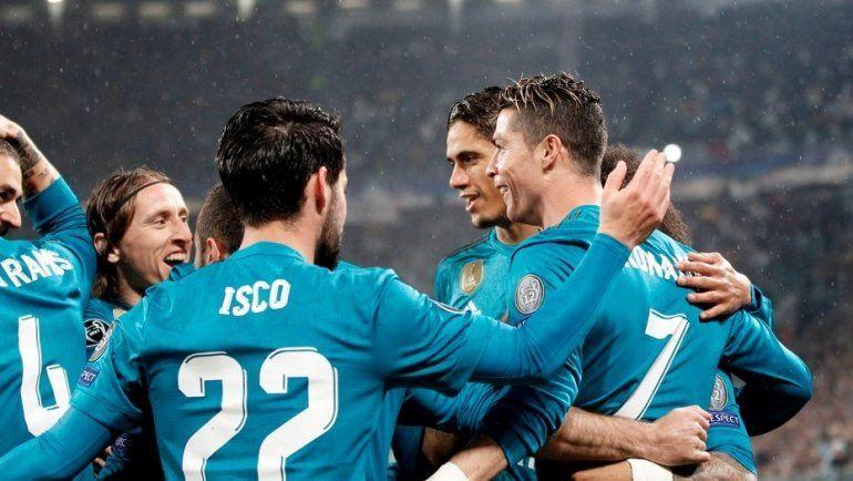 Real Madrid aplastó a Juventus y ya se siente en semifinales