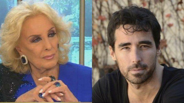 Mirtha Legrand culpó a la producción y Nacho Viale pidió perdón
