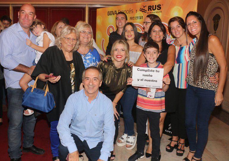 Laurita Fernández debutó en Sugar y Fede Bal no se lo perdió