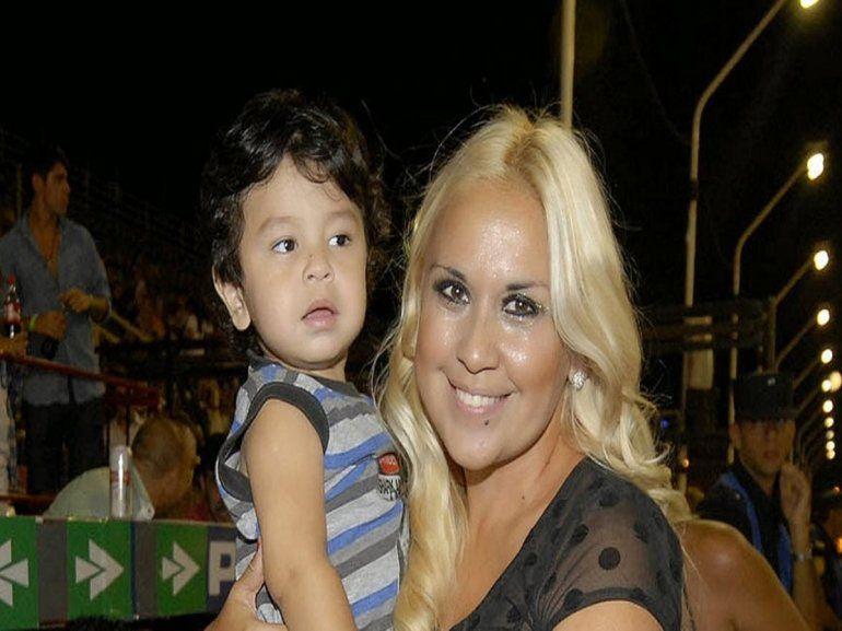 Verónica Ojeda contó el particular dibujo de Diego Maradona que hizo su hijo