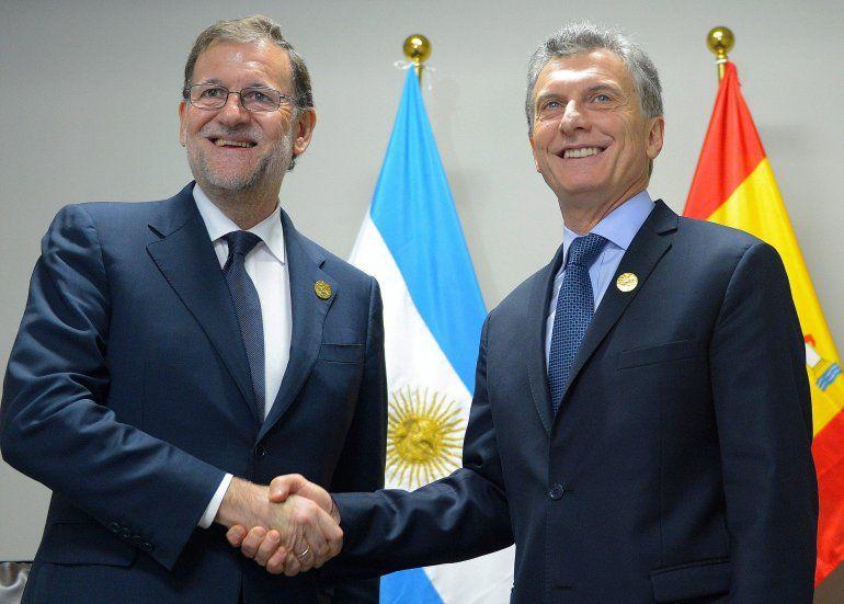 El Presidente de España llega al país y se reunirá con Mauricio Macri