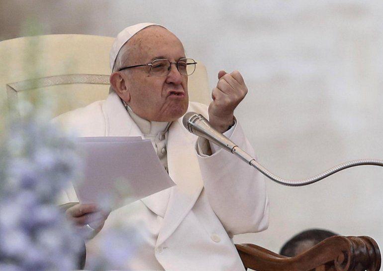 Francisco: durísimo con los que lo llaman populista y reafirmó su rechazo al aborto