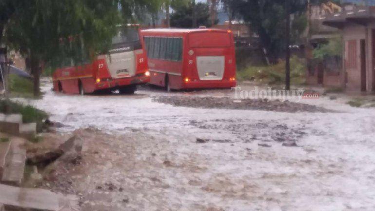 Lluvia e inundaciones en Jujuy
