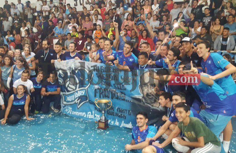 Histórico: Jujuy Vóley venció a San Martín de Formosa y es el nuevo campeón de la Liga A2