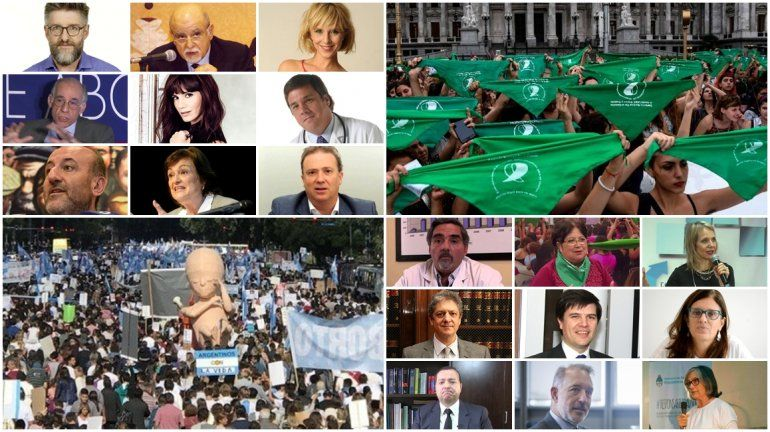 Quiénes son y cómo piensan los primeros 32 expositores del debate sobre el aborto