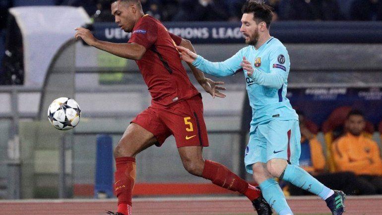 El Barcelona de Lionel Messi fue goleado en Roma y sufrió una eliminación durísima