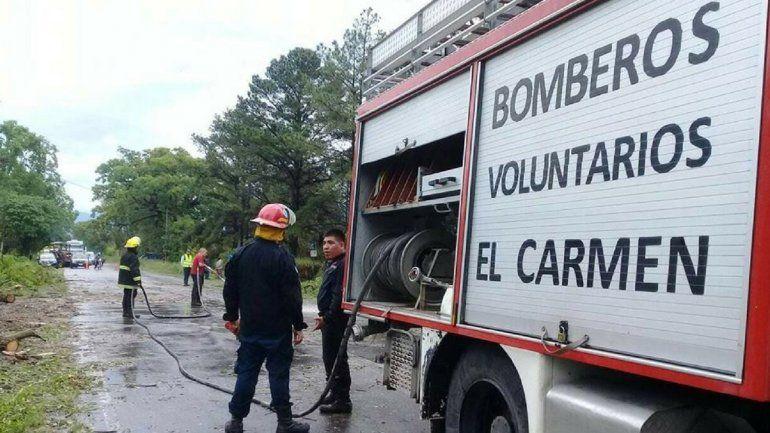 Ayuda para los bomberos: el grupo de voluntarios de El Carmen recibe una importante suma para seguir adelante