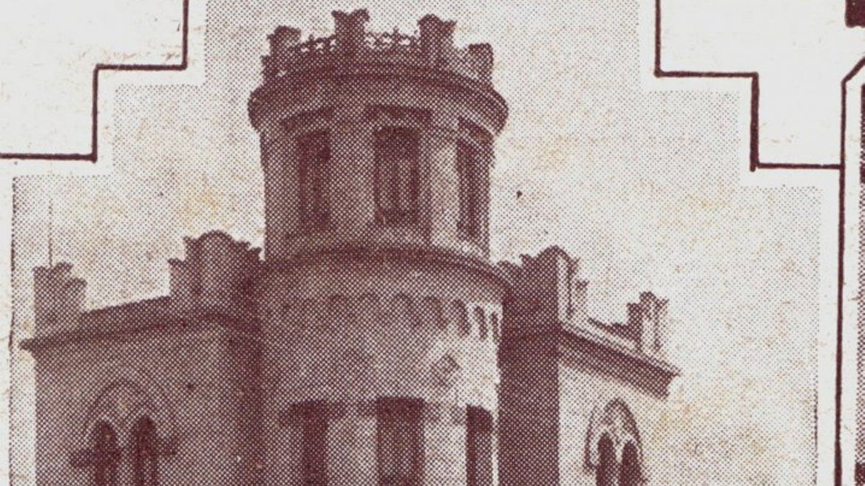 Castillo Tramontini y Avenida Fascio con boulevard