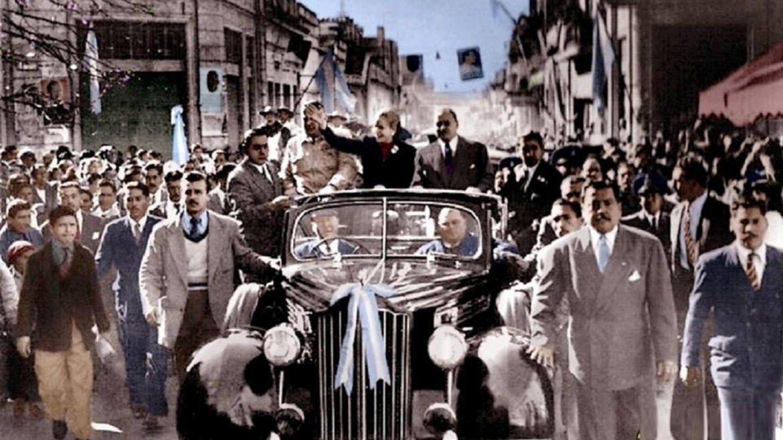 Eva Perón en Jujuy - 1950