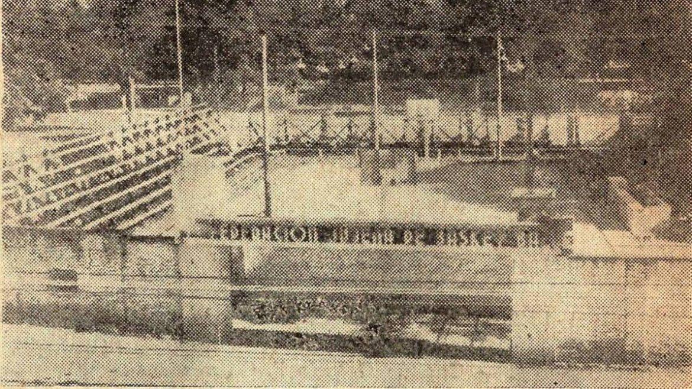 Estadio Federación de Básquet hacia 1937