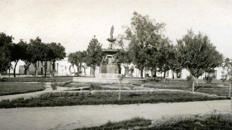 Plaza Belgrano en 1907