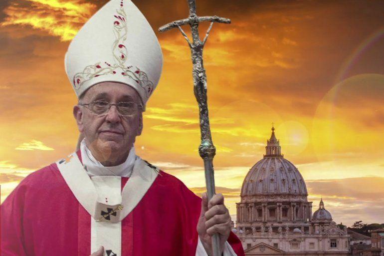 El Papa Francisco expresó su preocupación por los ataques a Siria
