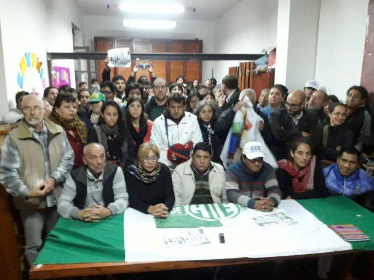 Organizaciones repudian las detenciones y exigen la libertad de sus compañeros